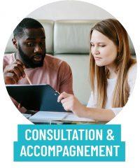 Services de consultation et d'accompagnement pour rayonner sur le web.