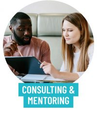 Consulting and mentoring services to radiantly shine online.
