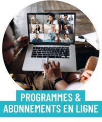 Services de formations, d'abonnements et de programmes en ligne pour rayonner sur le web.