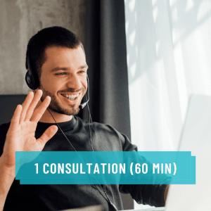 Service 1 consultation privée pour rayonner sur le web