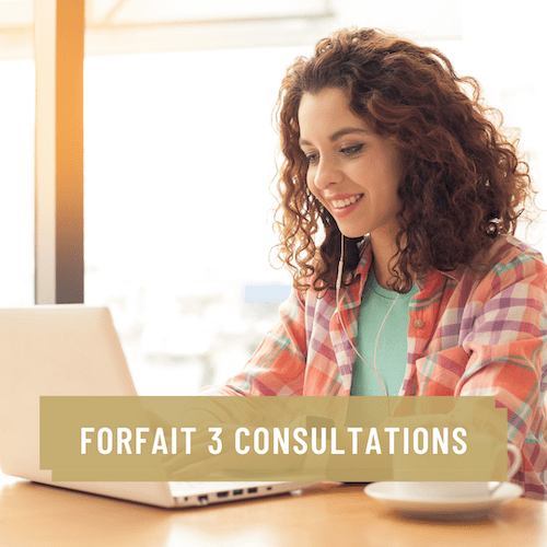 Service forfait 3 consultations privées pour rayonner sur le Web