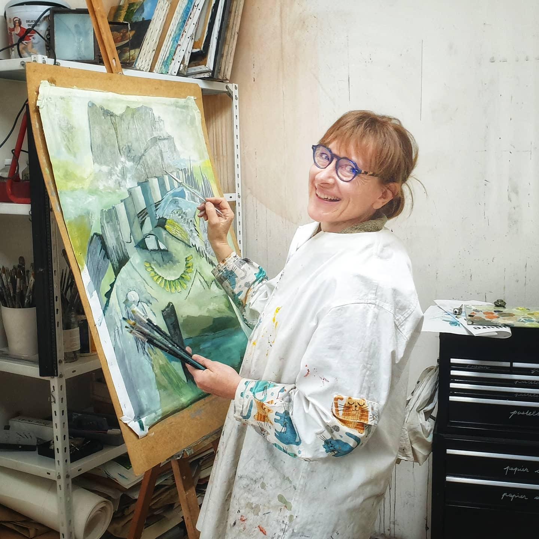 Florence Laurent, fondatrice de artyflo.com (France)